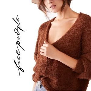 Free People Icing V-Neck Sweater